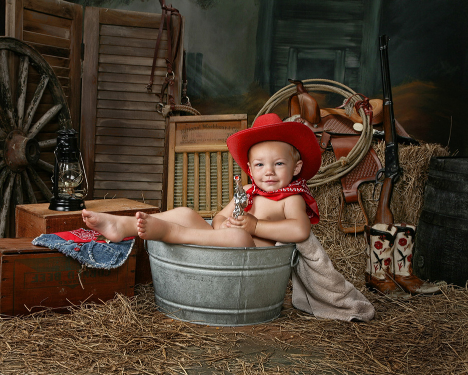 Visions Photography | Country Kids & Cowboys